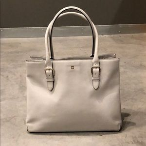 Kate Spade Large Gray Satchel - Great Carryall Bag